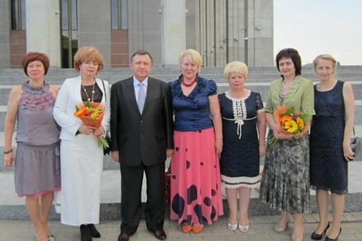 Гродненская делегация с председателем БРК Часнойтем Р.А.