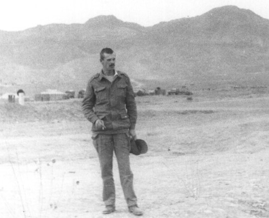 Волох А.П. в Афганистане