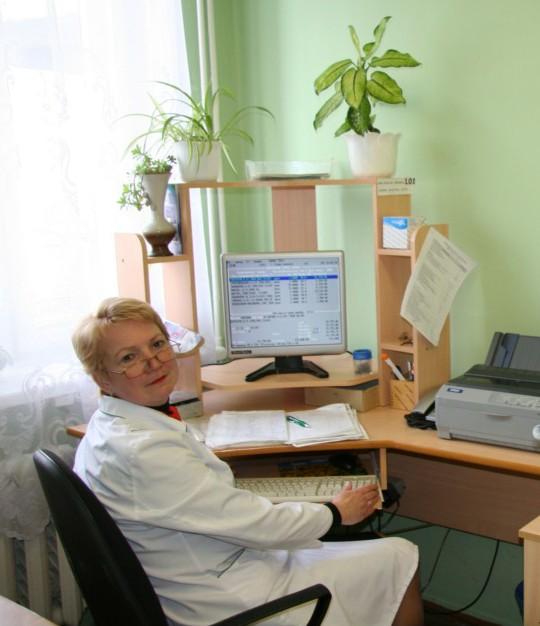 Марина Григорьевна Громыко,  заместитель заведующего  ЦРА № 60 Новогрудского района