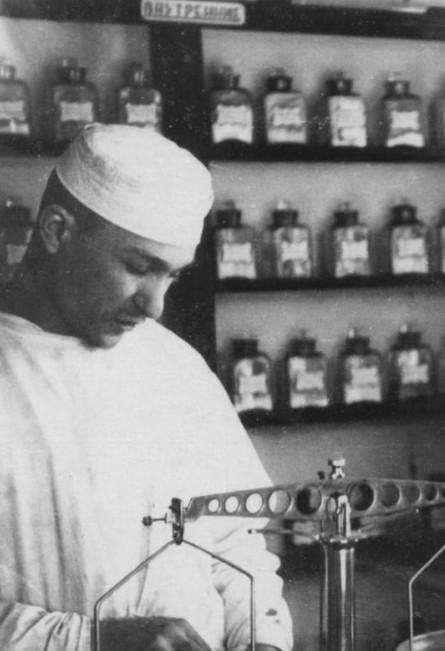 Аптечные будни рецептара Штемплевского В.И., 1956 год