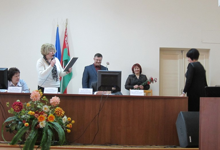 Х Пленум областного комитета профсоюза работников здравоохранения состоялся в Гродно 27 февраля 2014г.