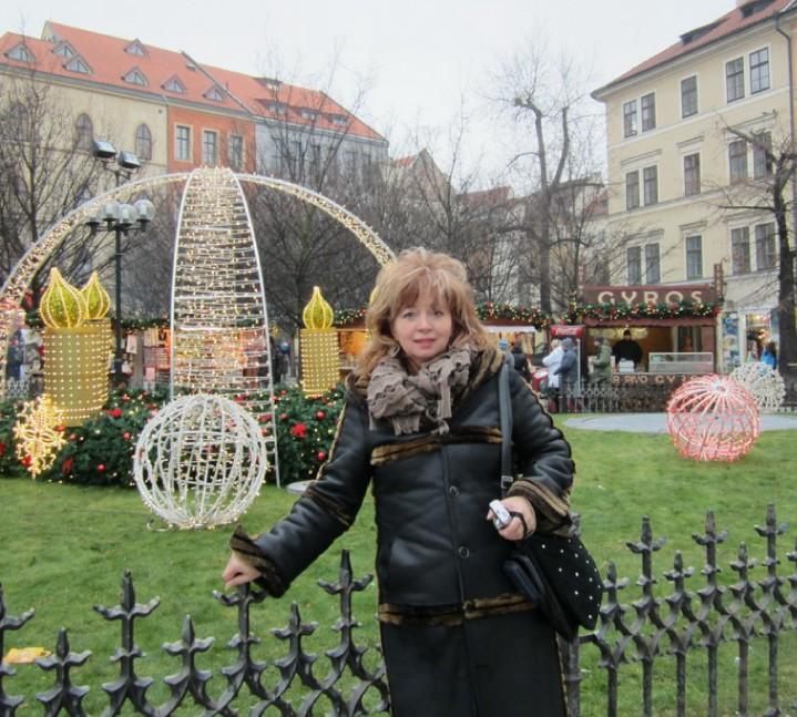 Декабрь 2012г., Прага