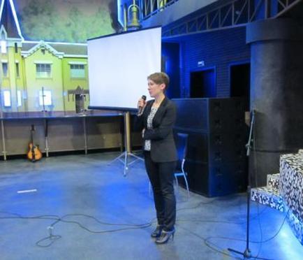 Выступление Хоперской Н.А. на слете  молодых специалистов 2013 года выпуска.