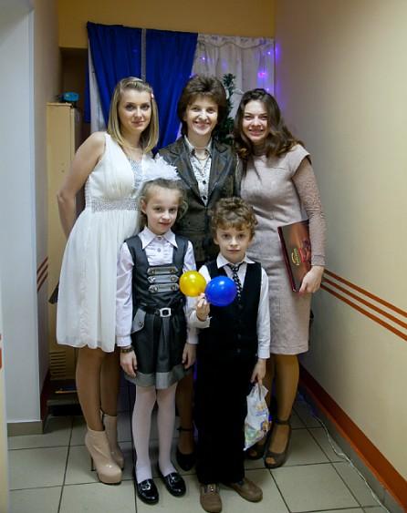 Лебецкая Гражина Станиславовна с детьми